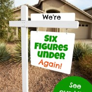 We're Six Figures Under… AGAIN! (Our new financial goals)