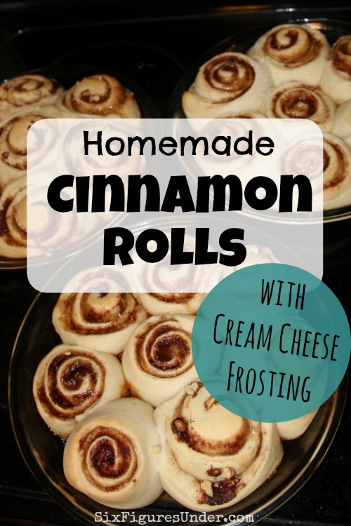 Cinnamon Rolls with Cream Cheese Frosting are a great make ahead breakfast for special occasions. They are soft and fluffy, yet sweet and filling.
