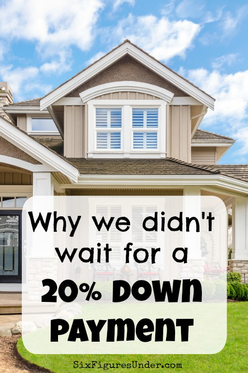 Having a 20% down payment sounds like the financially responsible thing to do, but sometimes there are good reasons to dive into home ownership without one.