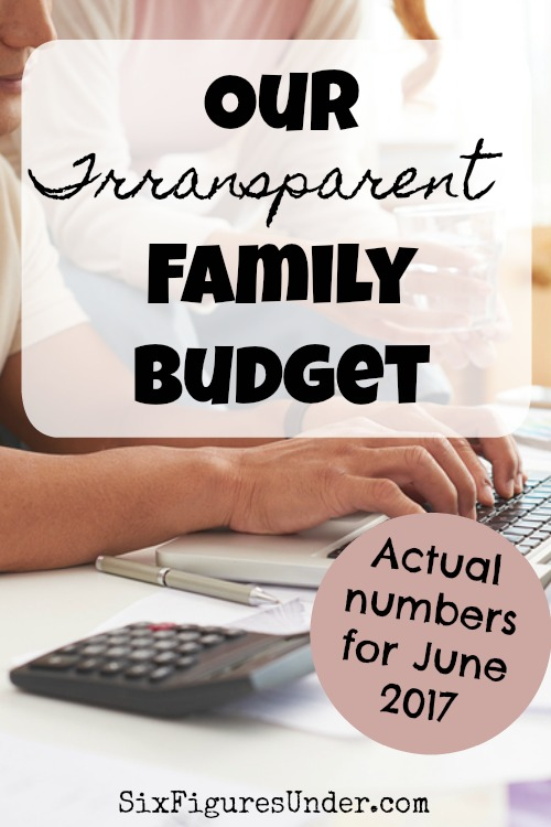 Want to see our budget and spending for our family of six? We share all the details each month. Here's June's update!