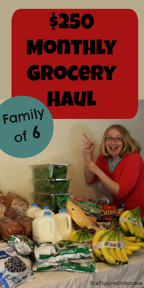 $250 Monthly Grocery Shopping for April (with video) - Six