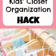Money-Saving Kids' Closet Organization Hack