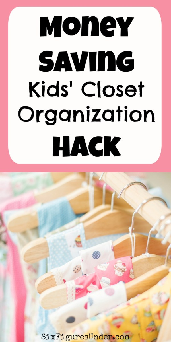 Have you ever bought clothes for your kids to grow into, but misplaced them or forgot about them until they were too small for your kids to wear? If so, this money-saving hack is what you need!