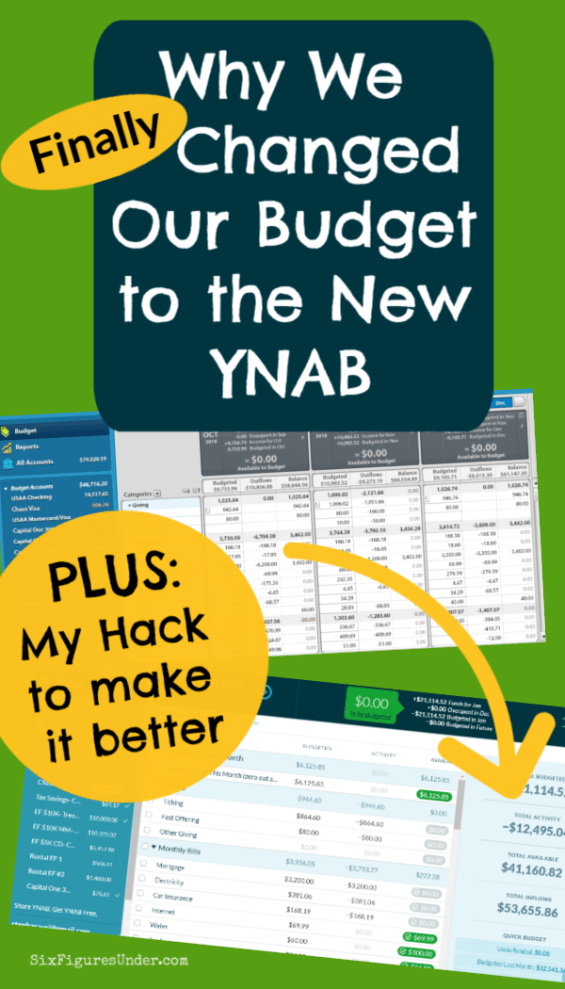 Switching our month ahead budget from YNAB 4 to the new YNAB was a tough decision, but with this hack for handling living on last month's income we were happy to make the change.