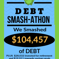 Debt Smash-athon JANUARY Progress Report