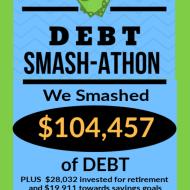 Debt Smash-athon JANUARY Progress Report