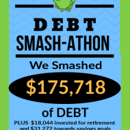 Debt Smash-athon FEBRUARY Progress Report