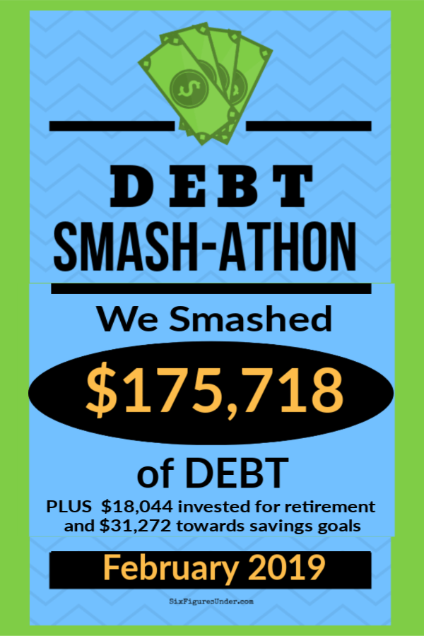 Every month in 2019 we're compiling the debt payoff experiences of our debt smashing community to keep us each accountable and to encourage one another. Check out the amazing financial progress everyone made in February!