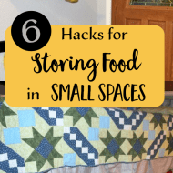 6 Hacks for Storing Food in Small Spaces