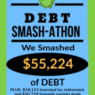 Debt Smash-athon DECEMBER Progress Report & 2019 Year-Long Totals!