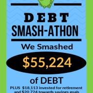 Debt Smash-athon DECEMBER Progress Report & 2019 Year-Long Totals!