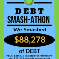 Debt Smash-athon JUNE Progress Report