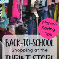 5 Money-Saving Tips for Back-to-School Clothes Shopping at the Thrift Store