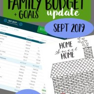Real Family Budget Update– September 2019