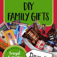 Fun and Frugal FAMILY Gift Ideas (that you can DIY)