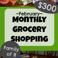 Monthly Grocery Shopping– February 2020
