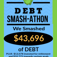 Debt Smash-athon JANUARY 2020 Progress Report
