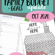 Real Family Budget Update — October 2020
