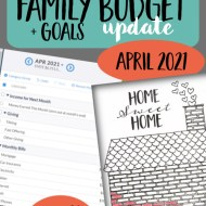 Real Family Budget Update– April 2021