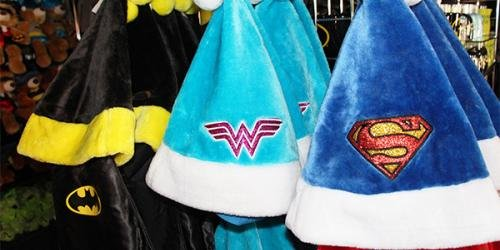Special Christmas hats are available.