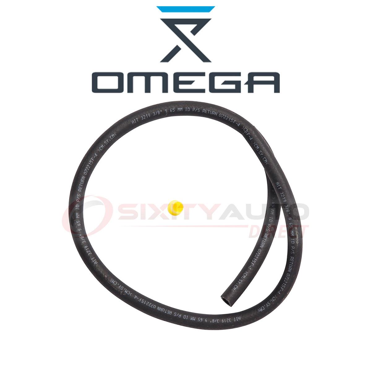 Omega Power Steering Return Hose For Pontiac