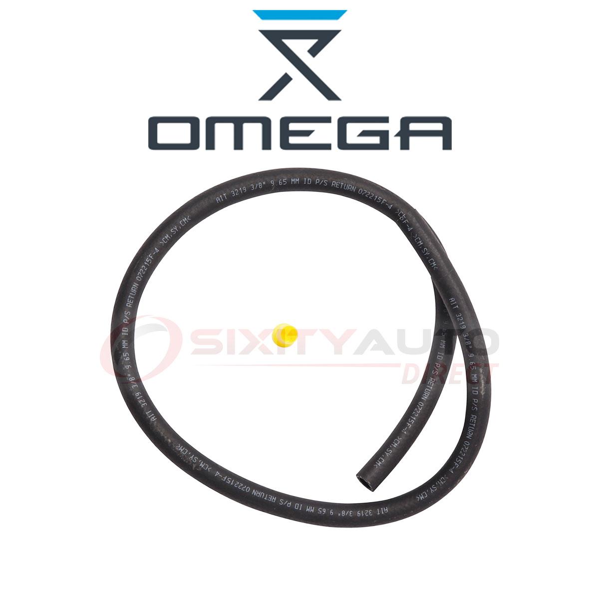 Omega Power Steering Return Hose For Chevrolet