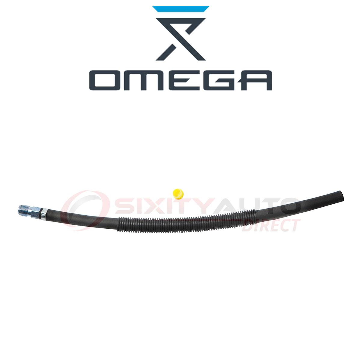 Omega From Gear Power Steering Return Line Hose For
