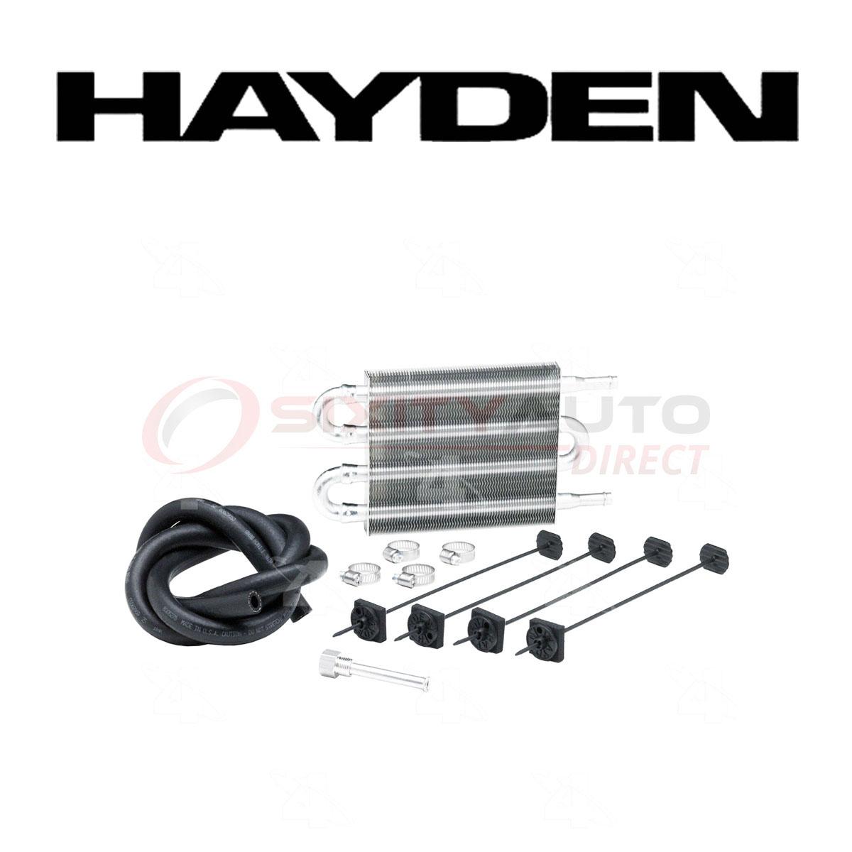 Hayden Power Steering Oil Cooler For American