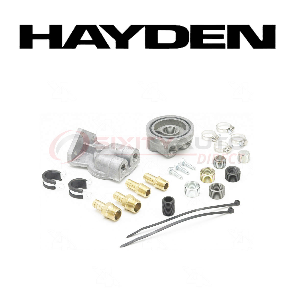 Hayden Oil Filter Remote Mounting Kit For Ford F