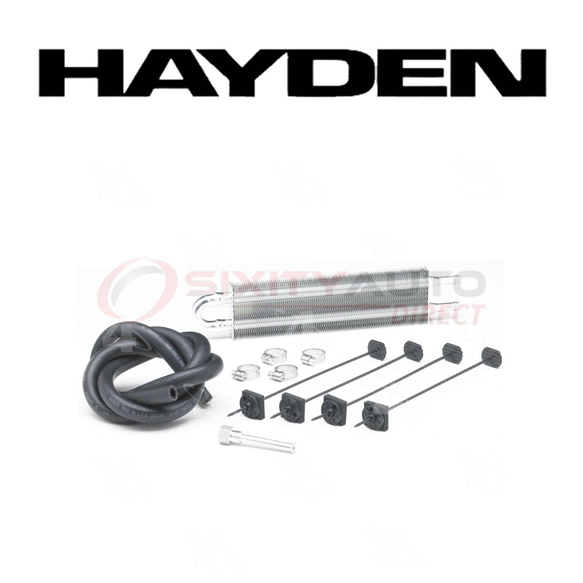 Hayden Power Steering Oil Cooler For