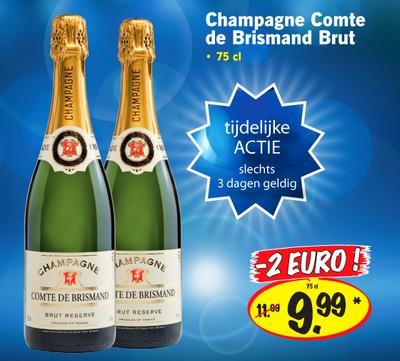 Champagne van Lidl