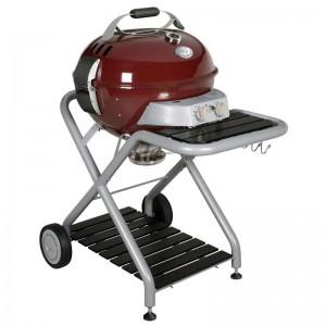 kogelbarbecue op gas