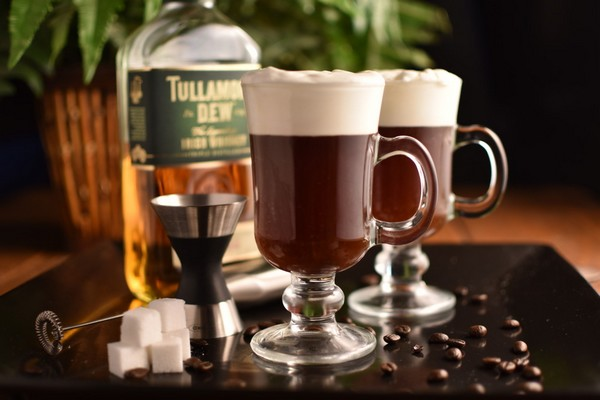 de perfecte irish coffee