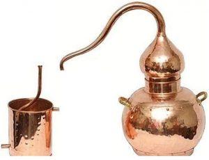 zelf gin distilleren