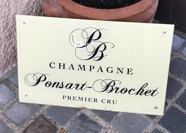 champagne Ponsart - Brochet