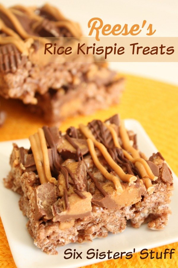 Reeses Chocolate Peanut Butter Rice Krispies
