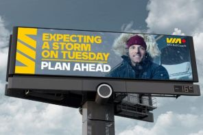 Data-Driven Digital OOH Campaign Boosts Railway Rider Counts By Warning Of Crappy Weather