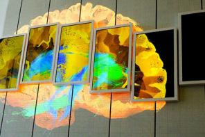 Projects: This Sliding, Morphing LED-LCD Wall Takes Closer Looks At Human Brain
