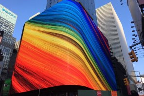 Giant Wraparound 8mm LED Board Set To Officially Light Up At 20 Times Square