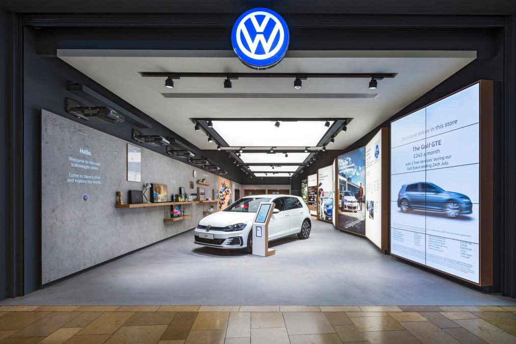 Projects New Vw Concept Dealership In Uk Minimizes