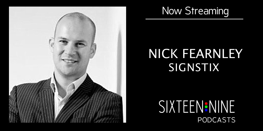 nick fearnley talks about how signstix makes smart displays really