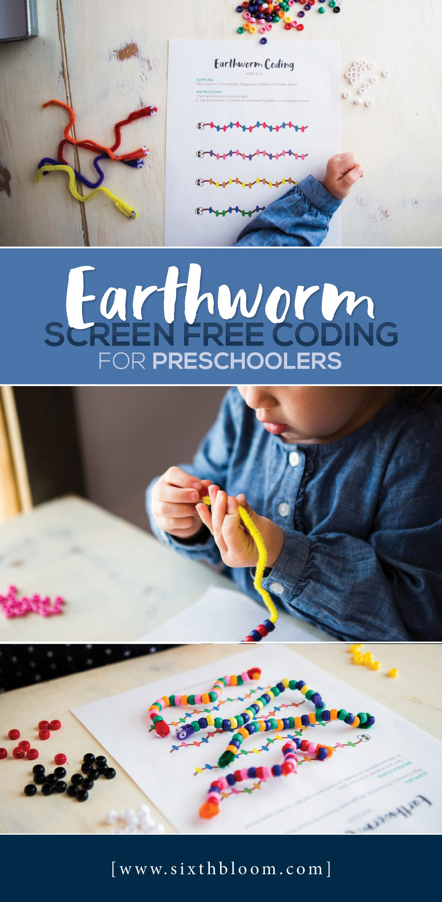 Earthworm Screen Free Coding For Preschoolers