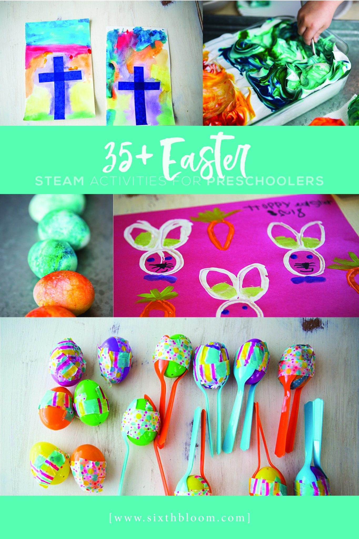 35 Easter Steam Activities For Preschoolers