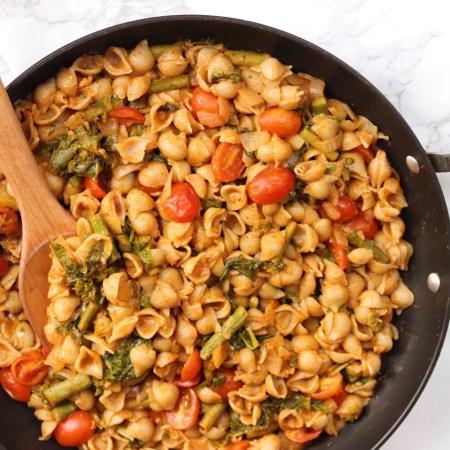Creamy Curry Pasta