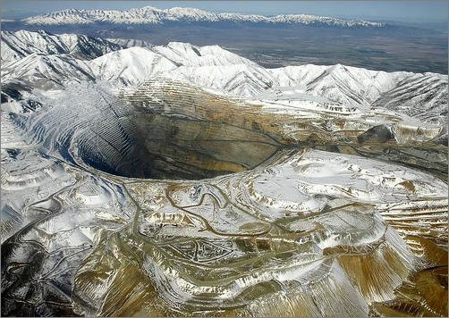 Bingham Canyon Mine -- Utah