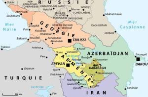 Abkhazie: Abhazya, Ossétie du Sud: Güney Osetya, Adjarie: Acarya