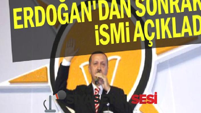 Akp'ye anket yapan şirket erdoğan'dan sonraki ismi alenilisimı
