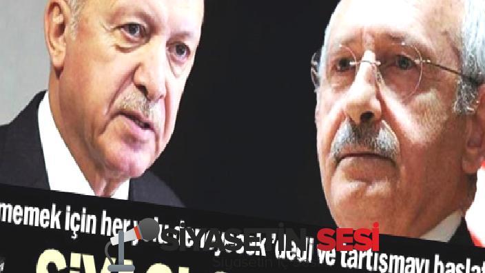 """Kılıçdaroğlu """"erdoğan gitmemek için her yolu deneyecek""""dedi ve tarkaışmayı byemeklattı"""