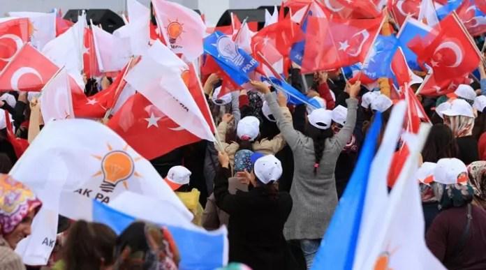 AKP Diyarbakır gösteri
