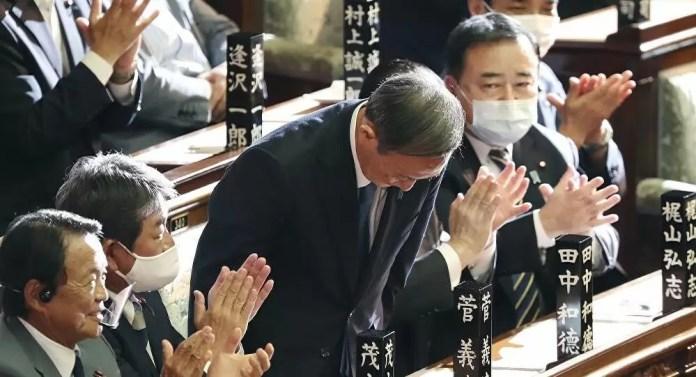 Japonya Başbakanı Suga